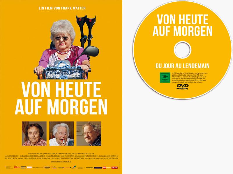 Plakat und DVD Von heuet auf morgen